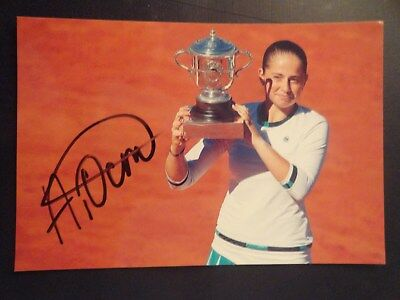 Autogramm Jelena Ostapenko Tennis Lettland French Open Siegerin 2017 In-Person