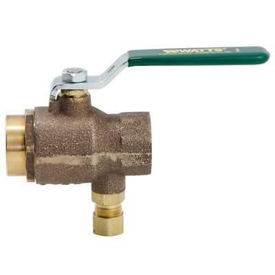 """NEW WATTS 3/4"""" Combination Ball Valve & Thermal Expansion Relief Valve SHPS FREE"""