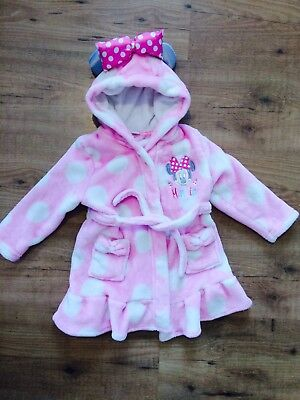 Girls Minnie Mouse Pink Cute Gown Size 18-33 Months