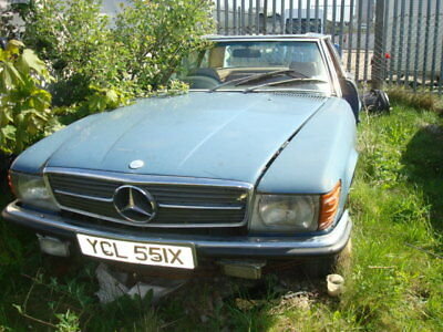 1982 Mercedes 280 Sl For Spares Only