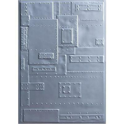Sizzix 3D Texture Fades Embossing Folder 664760 Typewriter by Tim Holtz One Size