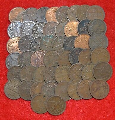 PORTUGAL LOT OF 50 coins / 10 Cent. / Several dates   Lote Nº 109