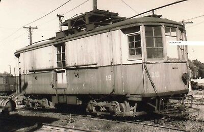 Hagerstown & Frederick RY H&FRY Photo Work Car #15