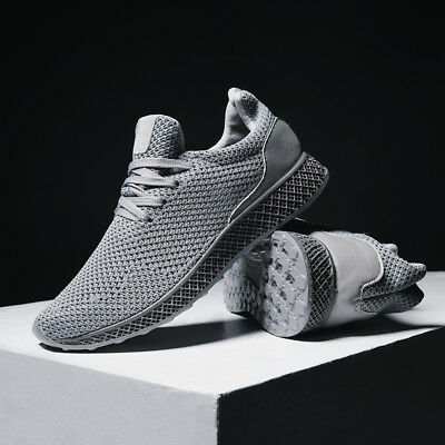 Men's Fitness Gym Athletic Casual Sneakers Outdoor Running Mesh Breathable Shoes