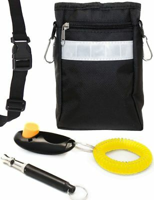 Home Tools EU Clicker And Whistle Belt Belt Bag Pockets For Treat Food Litter