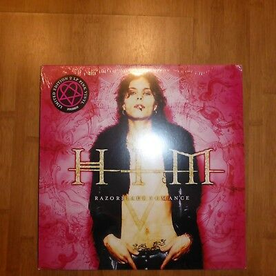 Him - Razorblade Romance - Pink 2 Vinyl Lp Gatefold Jimmy Franks Neu New Sealed