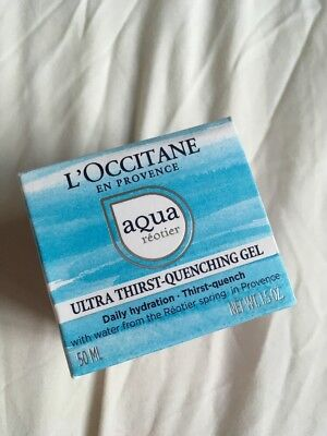 L'Occitane Aqua Reotier Ultra Thirst Quenching Gel NEW 50ml £28 Daily