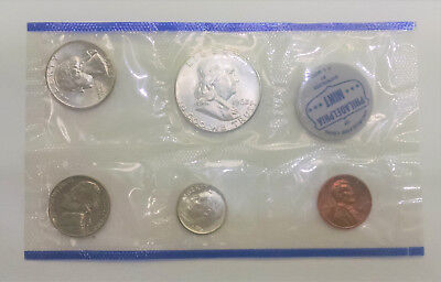 Uncirculated Coin Proof Set 1962 Philadelphia Mint 90% Silver