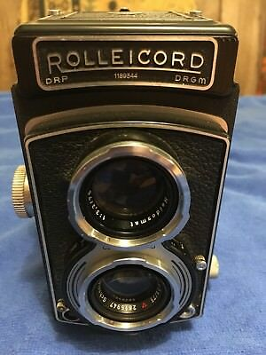 Rolleicord Medium Format Camera Great Condition And Fully Working Model K3B 1950
