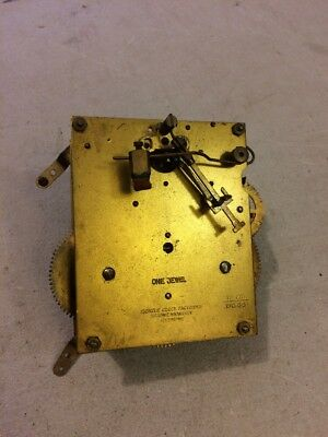 VINTAGE KIENZLE TAMBOUR MANTLE CLOCK MOVEMENT 12 cm