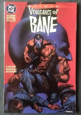 Batman: Vengeance of Bane Special #1 (2nd Print - 1st Appearance of Bane!) NM+