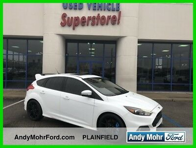 Ford Focus RS 2017 RS Used Certified Turbo 2.3L I4 16V Manual AWD Hatchback Premium Moonroof