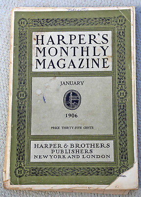 Harpers Magazine, January 1906, illustrated article on slave trade