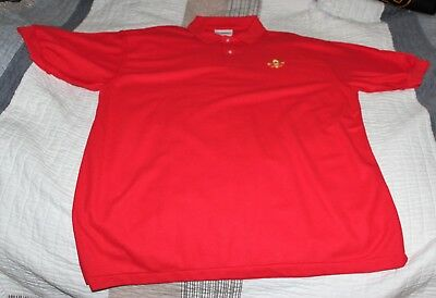 Boy Scout Adult Activity Shirt - Red