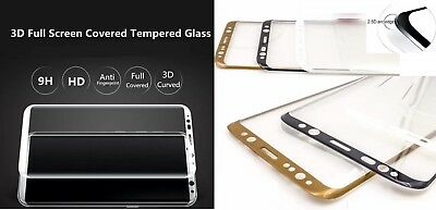3D 4D 5D TEMPERED GLASS FOR  SAMSUNG Note 8 S8 S9 PLUS Full Edge SCREEN CURVED