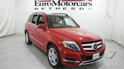 Mercedes-Benz GLK 4MATIC 4dr GLK 350 mercedes benz glk 4matic glk350 awd suv used 350 14 15 certified red navigation