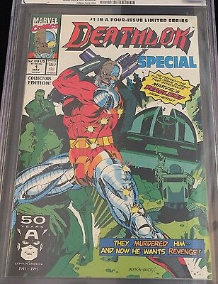 Deathlok Special #1 1991 Cgc 9.8 Guice Cover/t.v/netflix/shield/movie