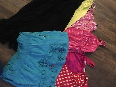 Maternity Summer / Holiday Bundle Size 12 -dresses, swimming costumes