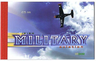 IRELAND BOOKLET - 2000 MILITARY AVIATION complete £5.55 booklet SG SB85.
