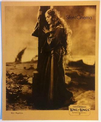 THE KING OF KINGS (1927) Jumbo Lobby Card Set Cecil B. DeMille's Biblical Epic