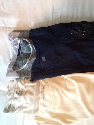 Lot Of 4 Womens Tops Blouses Sz Xl Apt 9, Ana, Old Navy and French Laundry