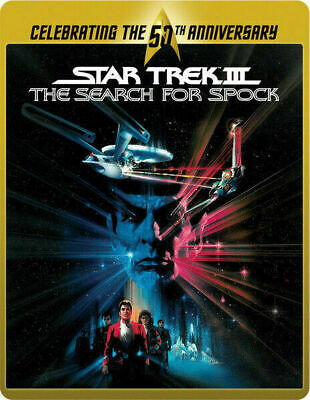 Star Trek III: The Search for Spock - Limited Edition Steelbook [Blu-ray] New!!