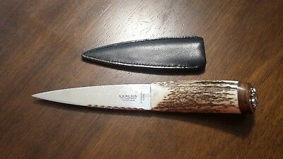 Fixed blade hunting knife G.B. Wilson Pitlochry Scotland