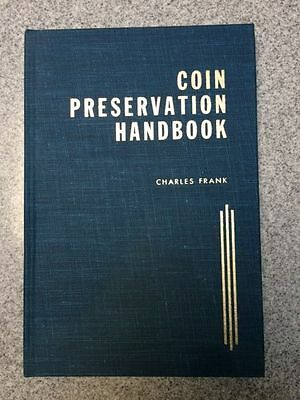 COIN PRESERVATION HANDBOOK  1964   brand new from private collection.