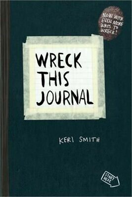 Wreck This Journal (Black): To Create Is to Destroy (Paperback or Softback)