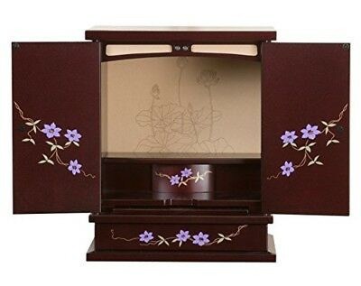 NEW! BUTSUDAN (BUDDHIST ALTAR) CABINET SHRINE  Mini Hatakotoba Made in Japan