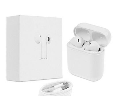 Wireless Stereo Bluetooth 4.2 AirPods Style Earbuds for iPhone X/8/7/6 + Android