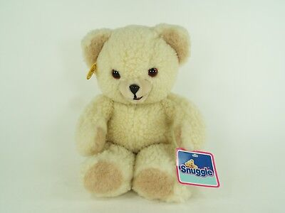 "Vintage Snuggle Bear Plush Lever Russ Fabric Softener 15"" Stuffed Animal w Tags"