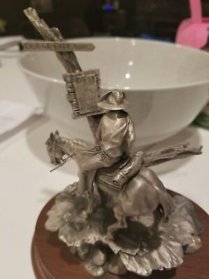 "Chillmark Fine Pewter ""wanted"" By Don Polland 1991 58/1200"