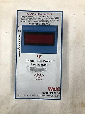Wahl 392M Themometer with Probe