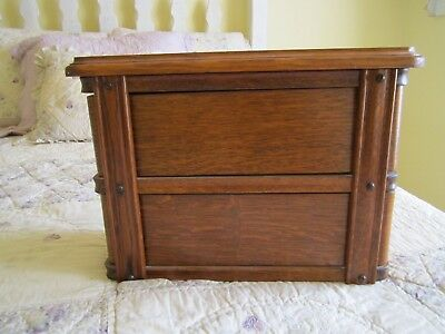 Antique Vintage Sewing Machine Drawers in Frame with Top 2 drawer