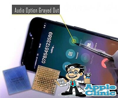 iPhone 7/7PLUS No Sound/ Audio IC Mic Slow Boot Repair Service With 4 Jumpers