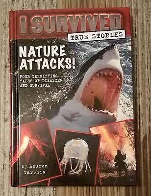 I Survived True Stories: Nature Attacks! 2 by Lauren Tarshis (2015, Hardcover)