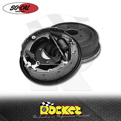 """So-Cal Speedshop Ford 9"""" Early Rear Drum Brakes (5x4.5"""") - SO96237"""