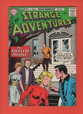 Strange Adventures #176 --  the Faceless People!  -- --  VG/FN  cond.