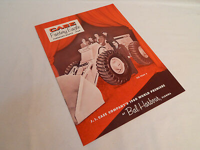 Vintage 1960 Case Factory Eagle Tractor Dealer Magazine - February - March Nice