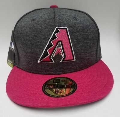 promo code c4ad0 a19bd Arizona Diamondbacks New Era Graphite Mother s Day 59FIFTY Cap Fitted 6 7 8  Hat