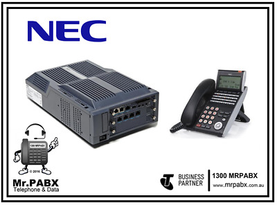 NEC SV8100 Phone System with 1 x DTL-24D-1A Phone