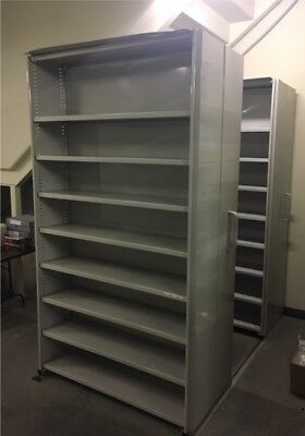 Steel Grey 2 bay Compactus used