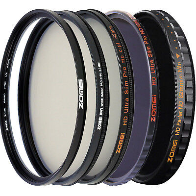 Zomei 82mm Filter UV Filter CPL Filter ND Filter HD Filter for Camera DSLR lens