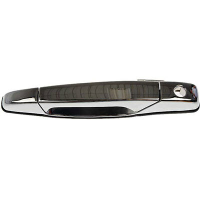 Exterior Chrome Door Handle Front Driver Left LH For Chevy Pickup Truck Outside
