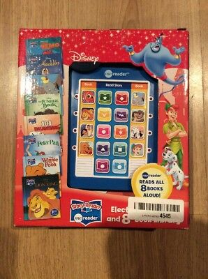 Disney Classic Electronic Me Reader Activity Pad & 8 Book Library