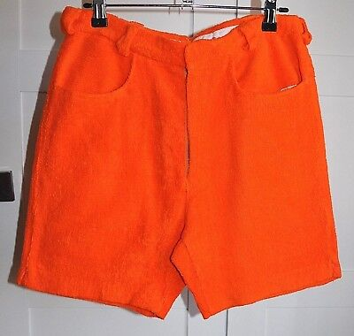 Vintage 60's Mens ERIC METCALF Sportswear Towelling Shorts