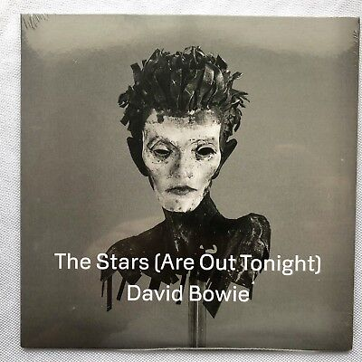 """DAVID BOWIE/THE STARS (ARE OUT TONIGHT) 2013 RECORD STORE DAY White Vinyl 7"""" RSD"""