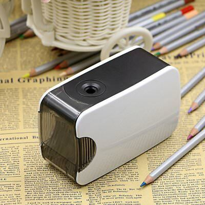 Electric Pencil Sharpener AutomaticTouch Battery / USB Home Office School Cute