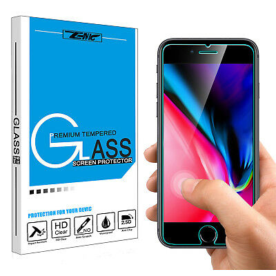 Premium 9H Hardness Tempered Glass Screen Protector HD Film Saver for iPhone 8